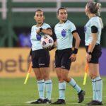 Árbitras hacen historia en empate de Defensa con Independiente del Valle