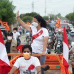 Keiko Fujimori realiza campaña proselitista en el norte del país (VIDEO)