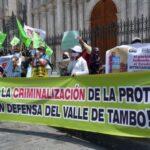 ONU pide a Perú cesar criminalización de líderes sociales