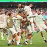 Eurocopa: España en un vibrante partido vence en la prórroga 5 a 3 a Croacia