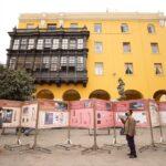 Bicentenario: Presentan exposición sobre las plazuelas del Centro Histórico de Lima