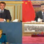 Pekín: Merkel y Macron apoyan ratificar acuerdo de inversión China-UE