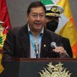 Luis Arce saluda la decisión de gobierno de Perú de salirse del Grupo de Lima