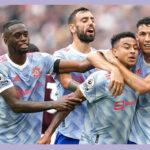 Premier League: Manchester United vence 2-1 al Wets Ham que falló penal en el minuto 90