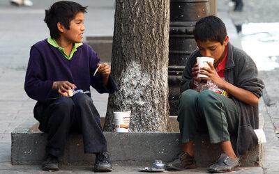 Niños sin colegio