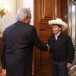 Celac: Presidente Castillo sostuvo encuentro con su homólogo de México