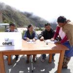 ONPE instalará mesas de sufragio en centros poblados para revocatoria y comicios en Chipao