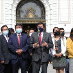 Bancada de Perú Libre pide renuncia del canciller Maúrtua
