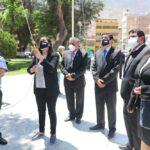 Juramenta nueva directiva de la Asociación Nacional de Periodistas Huánuco