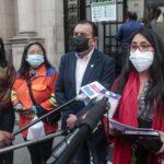 Juntos por el Perú anuncia que respaldará al gabinete que lidera Mirtha Vásquez