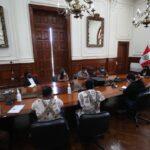Mirtha Vásquez se reunió con representantes de comunidades Kakataibo