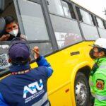 Covid-19: ATU, PNP y Minsa promueven vacunación en transportistas del Callao